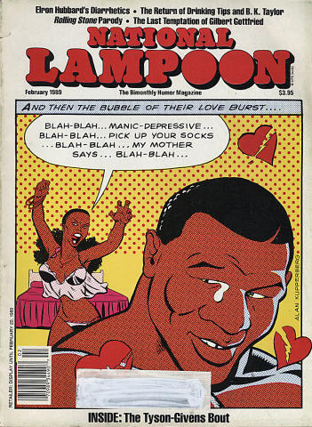 National Lampoon Magazine February 1989