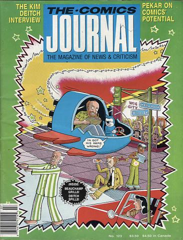 The Comics Journal Magazine July 1988