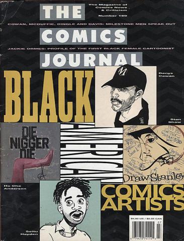 Fantagraphics: The Comics Journal #160