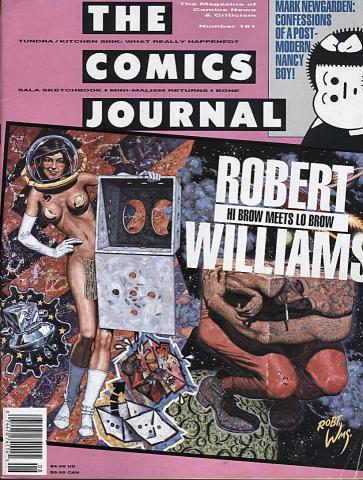 Fantagraphics: The Comics Journal #161