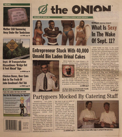 The Onion Vol. 37 Iss. 46