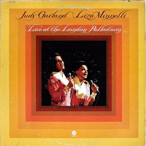 """Judy Garland & Liza Minnelli Vinyl 12"""""""