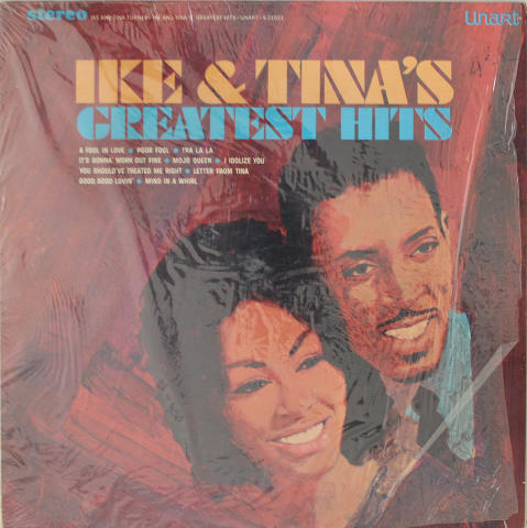 "Ike & Tina Turner Vinyl 12"""