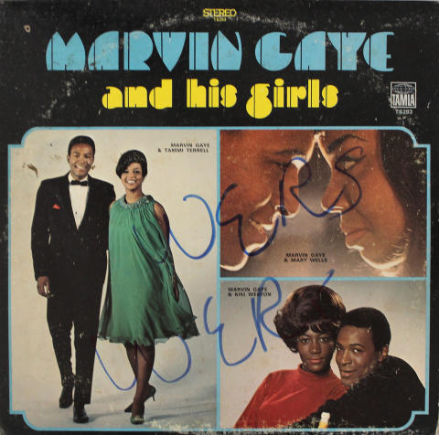 """Marvin Gaye and his Girls Vinyl 12"""""""