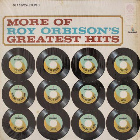 "Roy Orbison Vinyl 12"""