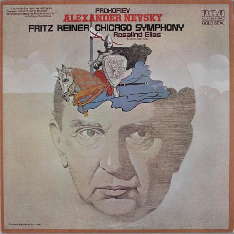 "Prokofiev - Alexander Nevsky Vinyl 12"""