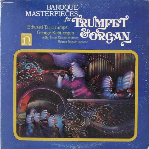 """Baroque Masterpieces For Trumpet & Organ Vinyl 12"""""""
