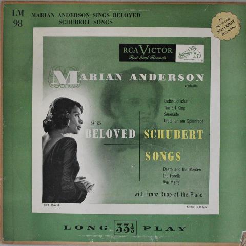 """Marian Anderson Vinyl 12"""""""