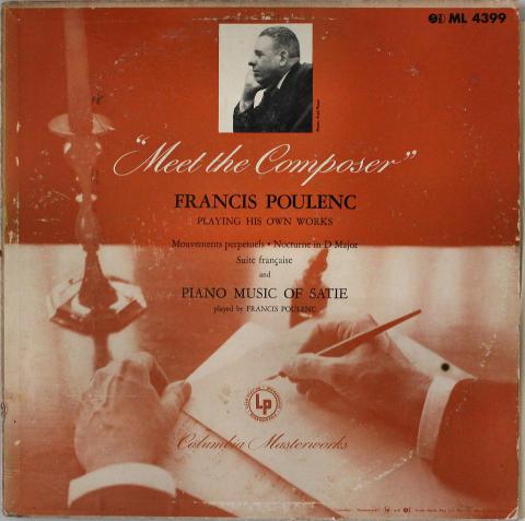 "Francis Poulenc Vinyl 12"""