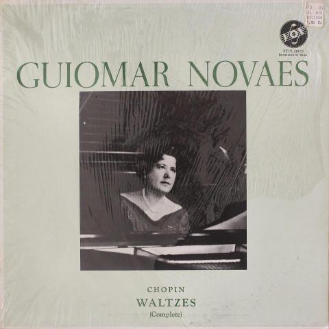 """Guiomar Novaes Vinyl 12"""""""