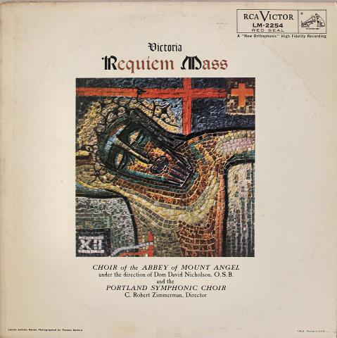 """Victoria Requiem Mass Vinyl 12"""""""