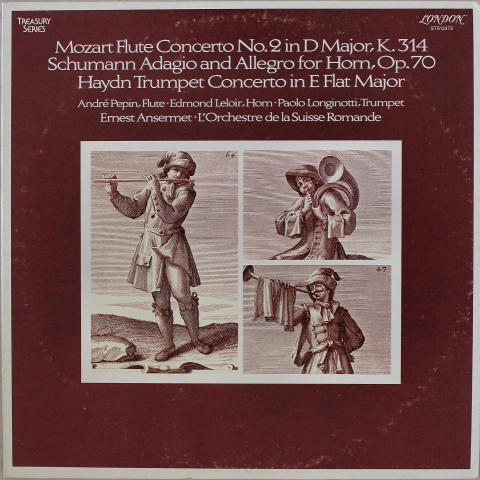 "Mozart / Schumann / Haydn / Concertos / Ansermet Vinyl 12"""