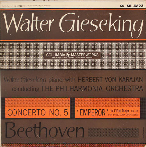 """Walter Gieseking Vinyl 12"""""""