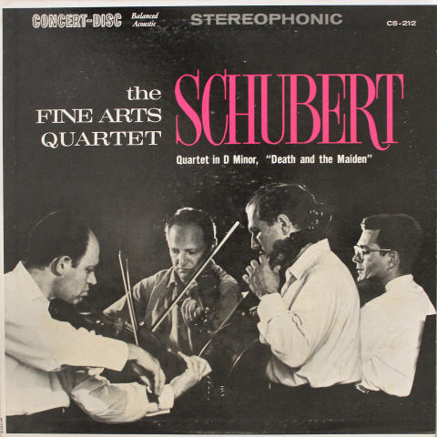 The Fine Arts Quartet Vinyl 12""