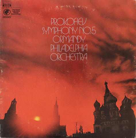 "Ormandy Philadelphia Orchestra Vinyl 12"""
