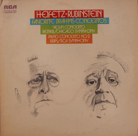 """Heifetz / Rubinstein Vinyl 12"""""""