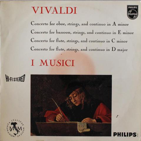 """Antonio Vivaldi Vinyl 12"""""""