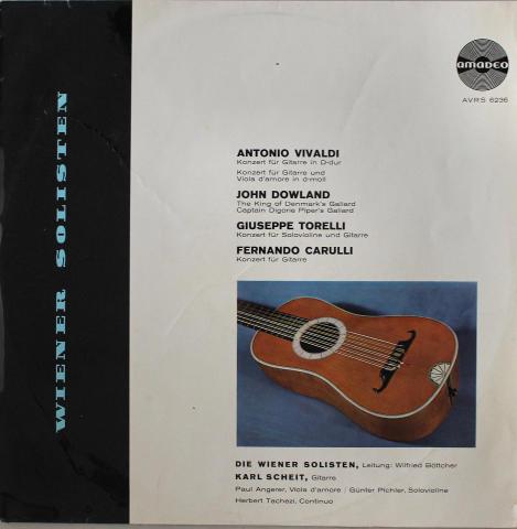 "Die Wiener Solisten Vinyl 12"""