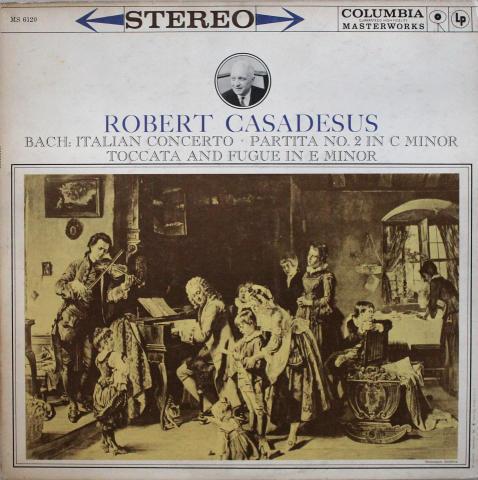 """Robert Casadesus Vinyl 12"""""""