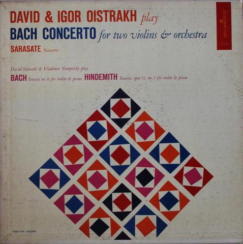"""David & Igor Oistrakh Vinyl 12"""""""