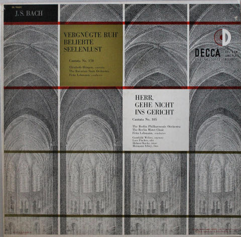 """Fritz Lehmann Vinyl 12"""""""