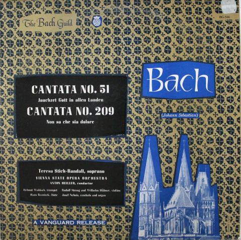 "Stich-Randall / Vienna State Opera Orchestra Vinyl 12"""