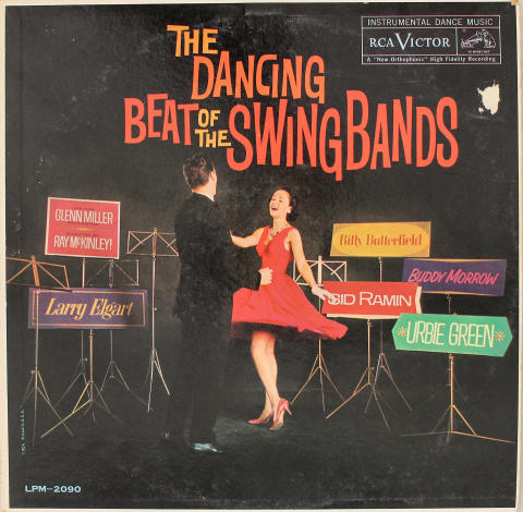 """The Dancing Beat of the Swing Bands Vinyl 12"""""""