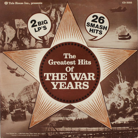 """The Greatest Hits of the War Years Vinyl 12"""""""
