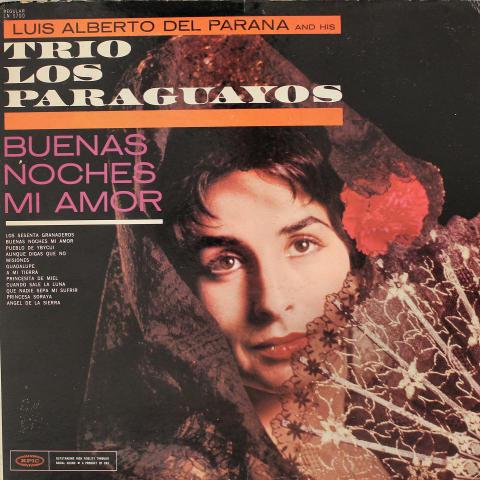 """Luis Alberto Del Parana and his Trio Los Paraguayos Vinyl 12"""""""
