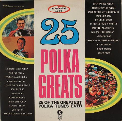 """25 Polka Greats Vinyl 12"""""""
