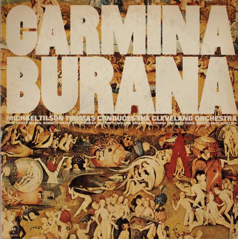 """Carmina Burana Vinyl 12"""""""