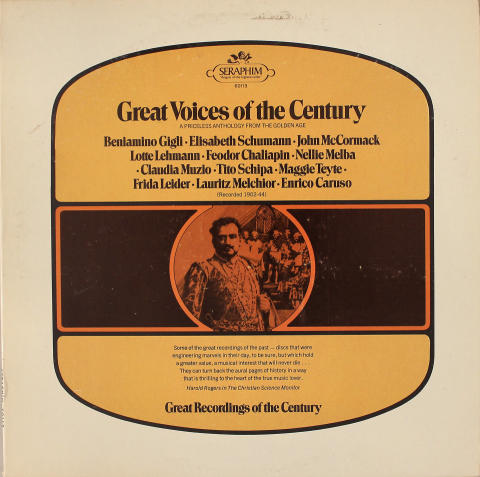 Great Voices of the Century Vinyl 12""