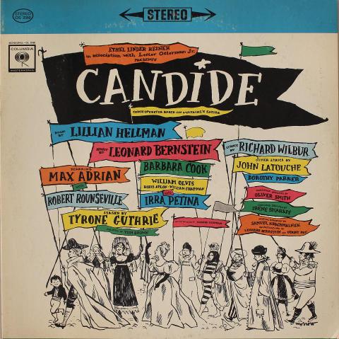 "Candide (Original Broadway Cast) Vinyl 12"""
