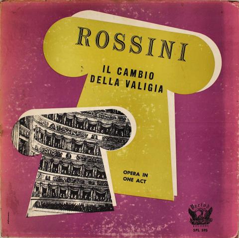 """Rossini: Il Cambio Della Valigia Vinyl 12"""""""