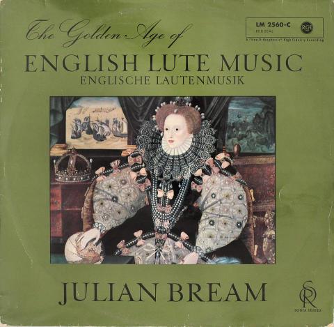 """Julian Bream Vinyl 12"""""""