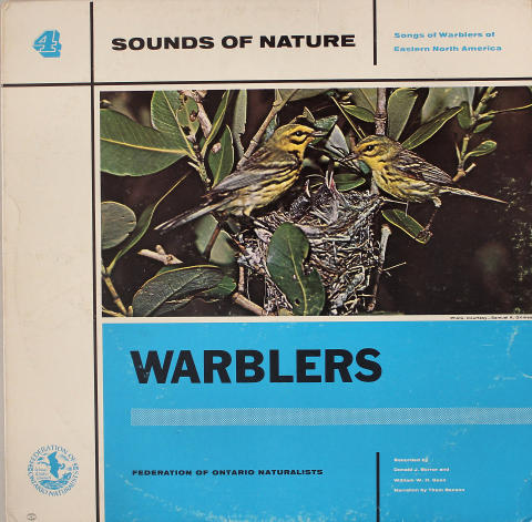 """Sounds of Nature: Warblers Vinyl 12"""""""