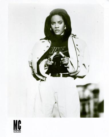 M.C. Lyte Promo Print