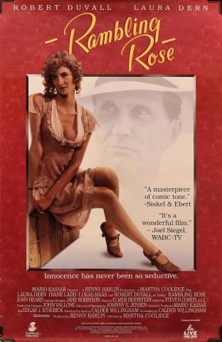 Rambling Rose Poster