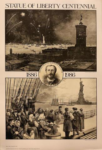 Statue of Liberty Centennial Poster
