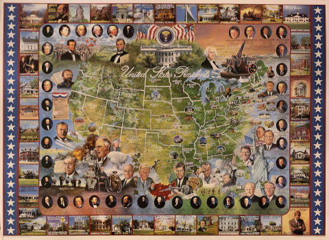 United States Presidents Poster