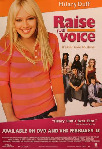 Raise Your Voice Poster