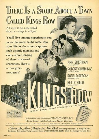 Kings Row Vintage Ad