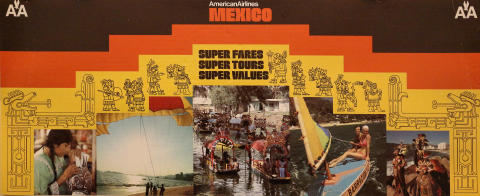 American Airlines: Mexico Poster