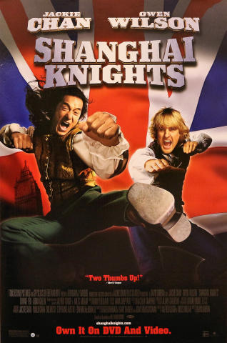 Shanghai Knights Poster