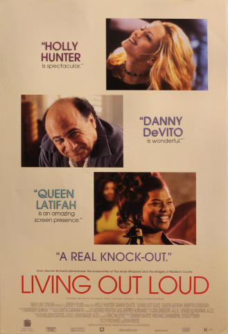 Living Out Loud Poster