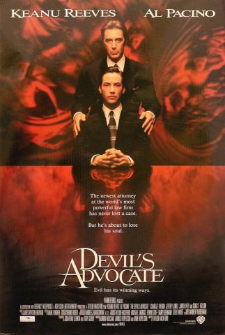Devil's Advocate Poster