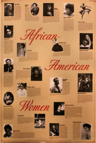 African-American Women Poster