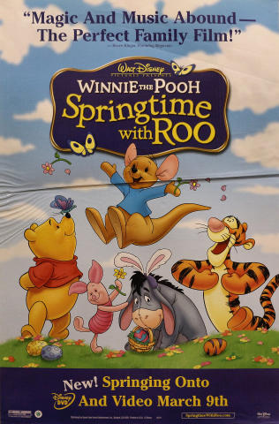 Winnie the Pooh: Springtime With Roo Poster