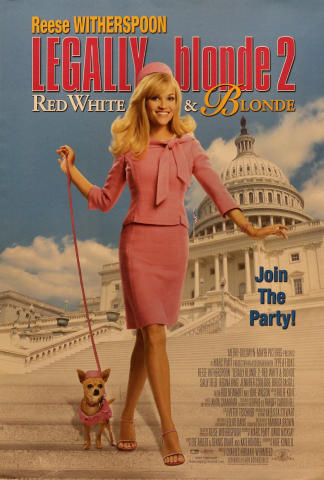 Legally Blonde 2: Red White & Blonde Poster