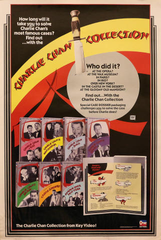Charlie Chan Collection Poster